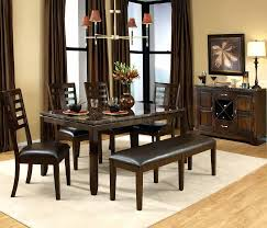 dining table with bench seats ikea dining room table and chairs