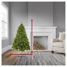 55ft Pre Lit Artificial Christmas Tree Cashmere Pine