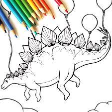 Dinosaur Coloring Book Serena Epstein