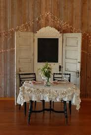 Old Doors Re Purposed For A Wedding Backdroplove The