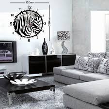 decoration zebre chambre idée decoration salon zebre