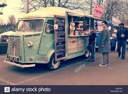 Citroen H Van Food Truck At Classic Car Boot Sale London UK Stock ...