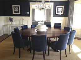 Traditional - Dining Room - Images By D2 Interieurs | Wayfair | Shop ... Brynwood White 5 Pc Round Ding Set With Blue Chairs Room Carmilla Damask Chair Espresso Wood Decor Black Contemporary With Wooden Table And Perfect Navy House Seven Design Build Shop Hanover Traditions 5piece In 4 And Farmhouse Fniture Skagen Round Table Oak Gripsholm Chair Entrancing New Roll Squire Parsons Slipcover Rectangle Brown Legs Combined Excerpt Shabby In A Range Of Styles Ireland Dfs Ideas Ikea