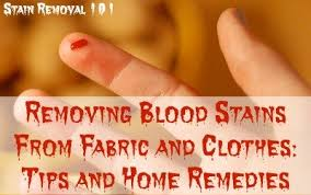 Remove Blood Stain From Carpet by Tips For Removing Blood Stains From Fabric U0026 Clothing