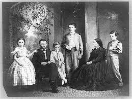 A Grant Family Photo Probably Taken Around 1865
