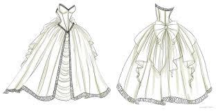 Drawn Anime Dress 5