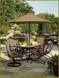 Jaclyn Smith Patio Furniture Umbrella by Dream Backyard Stay Cation Tuscan Style Dear Creatives