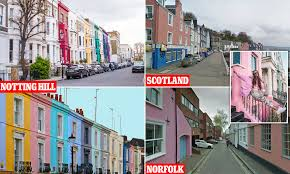 104 Notting Hill Houses Brightmove Colourful Style Homes Are Worth 20 More Than Plain Properties Daily Mail Online