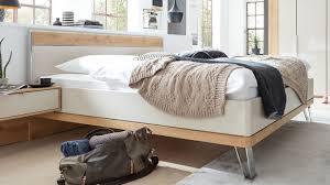 interliving schlafzimmer serie 1017 bettgestell 213 bianco eichefarbene chagnerfarbene oberflächen liegefläche c
