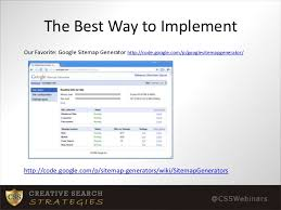 How to Create and Submit an XML SItemap