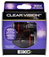 eiko 9004cvxl2 9004 clear vision xl halogen