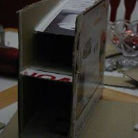 slanted shelf pattern for canned food rotation food storage
