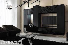 schwarze möbel für wohnzimmer future 22