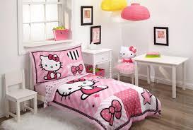 hello kitty 4 piece toddler bedding set toys r us