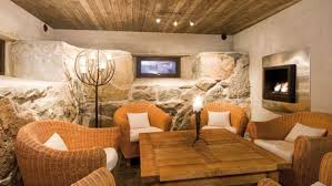 Decor Tips Cool Rustic Living Room Ideas With Ceilings And Wall Also Wicker Chair Coffee Table