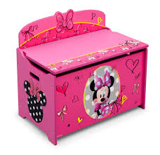 Disney Deluxe Toy Box – Minnie Mouse Baby Toddler Furniture