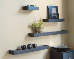 living room rustic hanging wall mount wooden wall shelves with