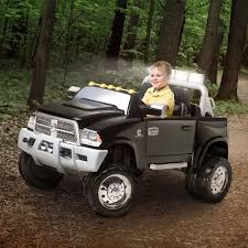 100 Dodge Truck Power Wheels The 12V Ram 3500 Dually Ride On By KidTrax Has All The Over
