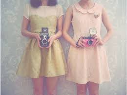 Dress Camera And Vintage Image