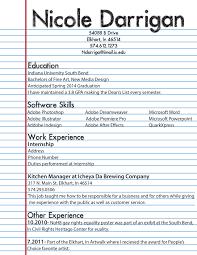 High School Student Job Resume Template Via First My