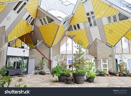 100 Cubic House ROTTERDAM NETHERLANDS APRIL 27 S Stock Photo Edit Now
