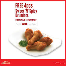 Pizza Hut: Free 4pcs Sweet 'N' Spicy Drumlets With Min. $20 Delivery ... Pin By Lava Hot Deals On Us Pizza Hut Coupon Free Drink New Hut Coupon Eertainment Gift Cards Vouchers Carousell Delivery Promotions 2 For 22 With Free Sides Singapore Pizzahutuponcode20116771 Ahmed Ishtiaque Via Slideshare Deal 10 Off Code Offers 2019 Delivery Coupons Nz The Company 100 20 2562 Me Not Pizza Codes Young Explorers Discount Dont Say Bojio 390 Large From With A Min 15