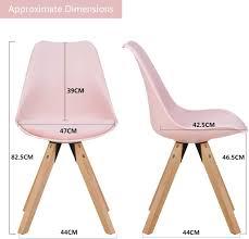 farbe creme material kunstleder duhome 2er set stuhl