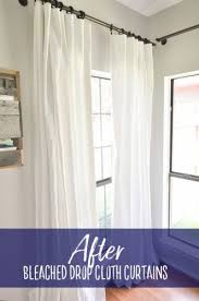 Target Blackout Curtains Smell by Best 25 Drop Cloth Curtains Ideas On Pinterest Outdoor Curtains