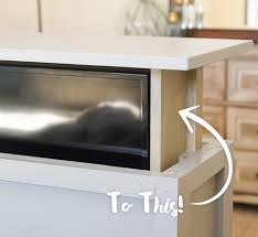 Hidden TV Cabinet DIY Project