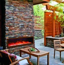 Amantii Panorama Series Indoor Outdoor Electric Fireplaces