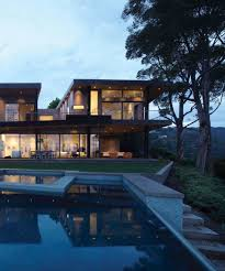 100 Griffin Enright Architects Luminous Modern Dream House In LA With Dramatic Canyon Views