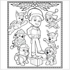 Paw Patrol Tracker Printable Coloring Pages Online Hard