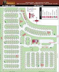 Grizzly Rv Park Map
