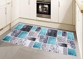 teppiche teppich kurzflor läufer küchenläufer vintage modern