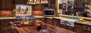 Rustic Western Style Kitchen Decor Ideas Featured