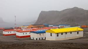 104 Antarctica House There S A Settlement In With A School A Post Office And A Huddle Of Homes It S Like Other Sub Zero Villages Except For One Thing Families Must Have Surgery To Move In