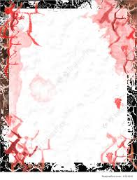 Borders And Frames Bloody Paper With Grunge Border