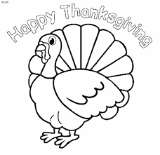 Thanksgiving Day Coloring Sheets Pages Ideas