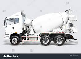100 Concrete Truck Delivery Mixer Isolated On Stock Photo Edit Now