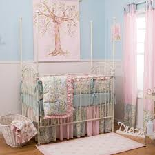 Love Pink Bedding by Love Birds Crib Comforter Carousel Designs