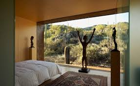 100 Rick Joy Tucson Bedroom At Desert Nomad House By Architects Fall Asleep