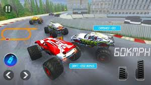 100 Monster Trucks Games Racing Game For Kids Truck Car Racing Racing For Android