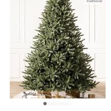 REDUCED 75 Balsam Hill Classic Blue Spruce Artificial Unlit Christmas Tree