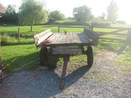 An Old David Bradley Farm Wagon