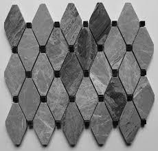 Mosaic Tile Chantilly Virginia by Tar Mak Usa Clipped Diamond Polished 2