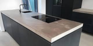 betonarbeitsplatte leichtbau betontisch betontischplatte