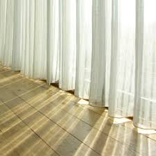 Blue Sheer Curtains Uk by Natural Fabric