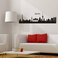 skyline berlin wandaufkleber