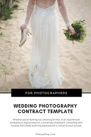 Wedding Photography Contract Template From TheLawTog