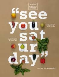 Athens Farmers Market Campaign Poster Design